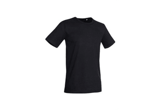 Stedman Stars Mens Morgan Crew Neck Tee (Black Opal)