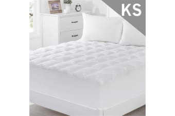 King Single Size 1000GSM Bamboo Fibre Pillowtop Mattress Topper