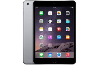 Used as demo Apple iPad Mini 3 16GB Wifi Space Grey (100% GENUINE + AUSTRALIAN WARRANTY)