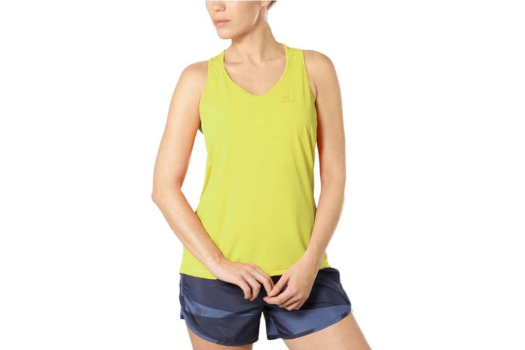 Salomon Agile Tank Women's (Limelight, Size Small)