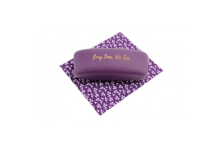 CGB Giftware Willow And Rose Long Time No See Purple Glasses Case (Purple) (One Size)