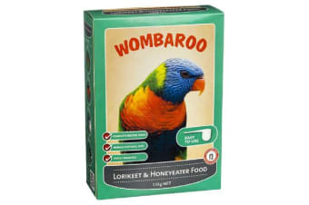 Wombaroo Lorikeet & Honeyeater Food - 300g