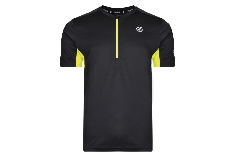 Dare 2b Mens Equall Cycle Jersey (Black) (S)