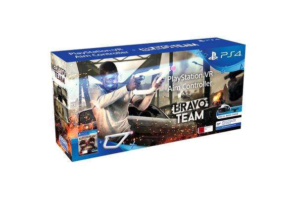 Sony Bravo Team VR Aim Controller Bundle - PS VR Required The next level in VR gaming experience