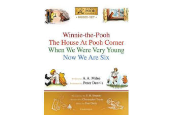 Winnie-The-Pooh Boxed Set - Winnie-The-Pooh; The House at Pooh Corner; When We Were Very Young; Now We Are Six