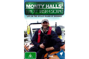MONTY HALLS: GREAT IRISH ESCAPE - Region All Rare- Aus Stock DVD NEW