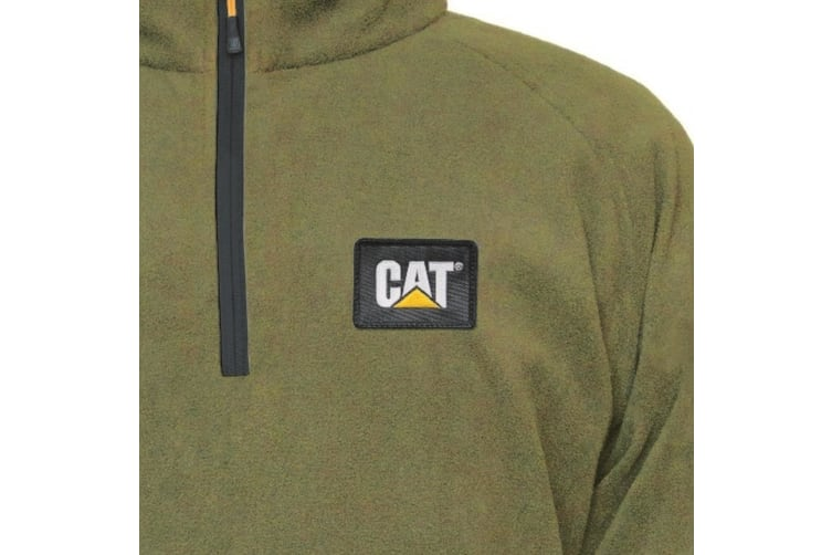 Caterpillar Mens AG Fleece Pullover Jumper (Cypress) (M)