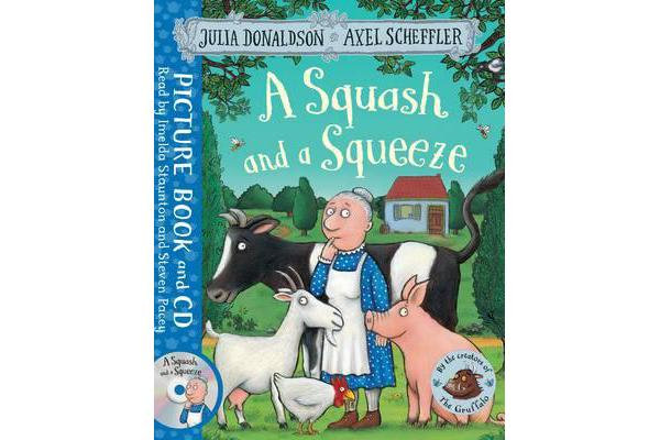 A Squash and a Squeeze - Book and CD Pack