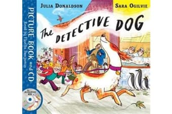 The Detective Dog - Book and CD Pack