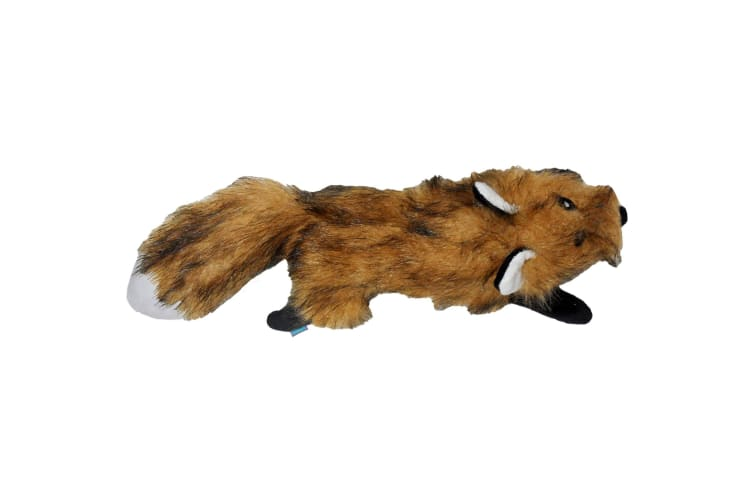 Dog & Co Country Fox Dog Toy (Brown) (Large)
