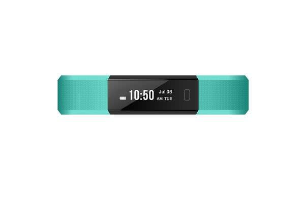 "TODO Bluetooth V4.0 Fitness Band Watch Heart Rate Monitor Ip67 0.87"" Oled - Black"