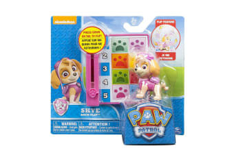 Paw Patrol Action Pack Pup and Badge - Backflip Skye