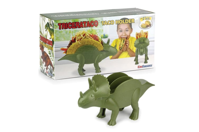 Kids Funwares Dinosaur Tricerataco Kids Children 18m+ Taco Holder Storage Rack
