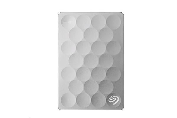 Seagate 2TB Backup Plus Ultra Slim - Platinum (  Includeds 2- Year Data Recovery Services  --