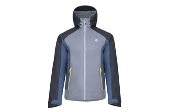 Dare 2B Mens Recode Waterproof Jacket (Gravity Grey/Quarry Grey) (S)