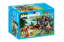 Playmobil Lynx Family with Cameraman