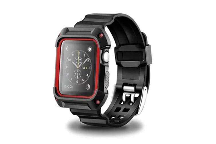 Rugged Protective Case with Bands for Apple Watch Series 3/2/1