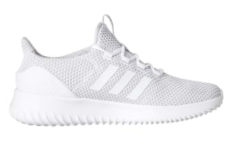 Adidas Neo Men's Cloudfoam Ultimate Shoe (White/Grey)