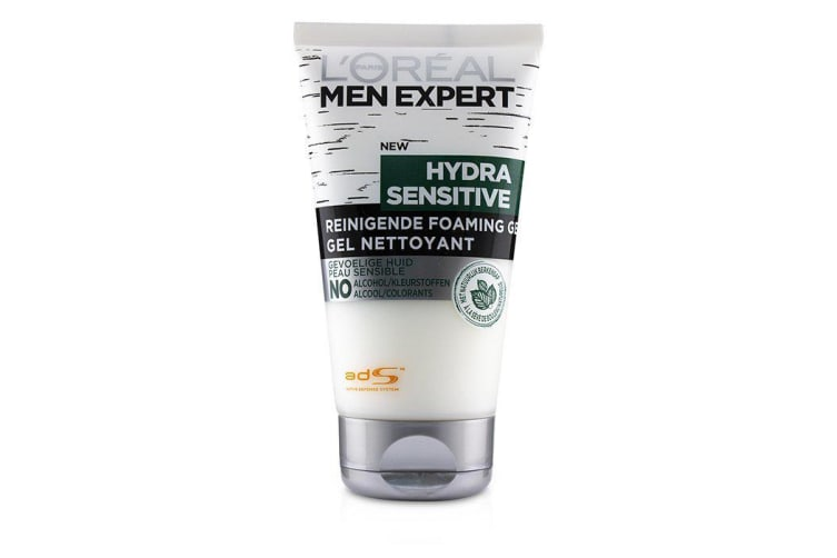 L'Oreal Men Expert Hydra Sensitive Cleansing Foaming Gel 150ml/5oz
