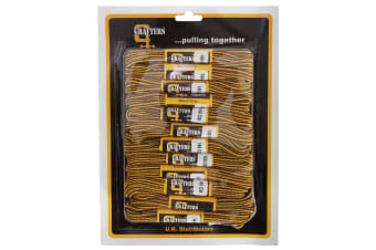 Grafters Round 140cm Boot Laces (Pack Of 12) (Chocolate/Gold)