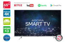 "Kogan 65"" Agora 4K Smart LED TV (Ultra HD) - Refurbished"