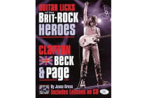 Guitar Licks of the Brit-Rock Heroes - Clapton, Beck and Page