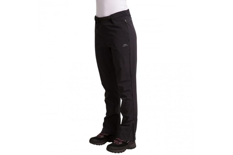 Trespass Womens/Ladies Stormlight Hiking Trousers (Black) (S)