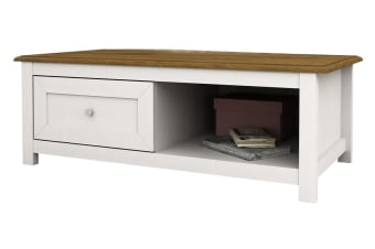 Abelina Coffee Table (White)