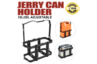 ATEM POWER 10L/ 20L Jerry Can Holder Adjustable For Camper Trailer Caravan Camping 4WD