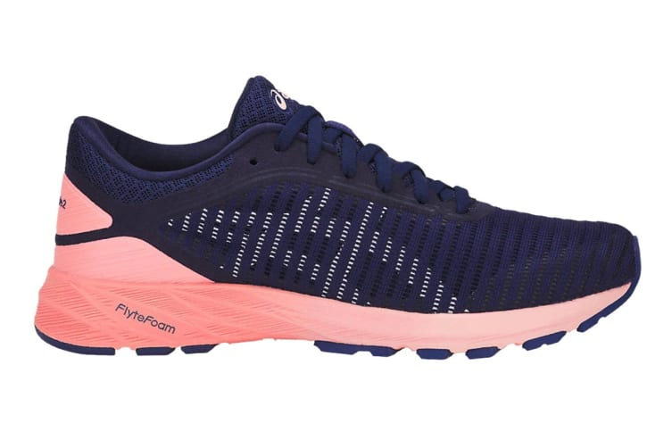 outlet store 56791 85340 ASICS Women's DynaFlyte 2 Running Shoe (Indigo Blue/White/Begonia Pink,  Size 6.5)
