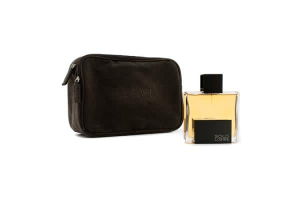 Loewe Solo Loewe Eau De Toilette Spray 125ml/4.3oz + Brown Pouch (1pcs+pouch)