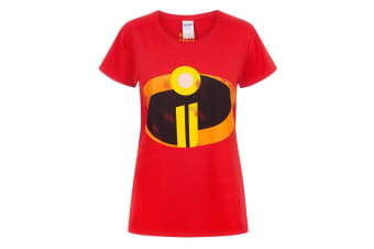 The Incredibles 2 Womens/Ladies Costume T-Shirt (Red)