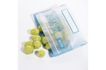 Russbe Snack Bag Set of 8 Blue Statement