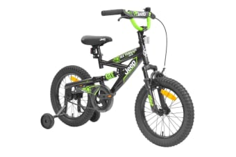 Jeep Dual Suspension 40cm Boys Bike