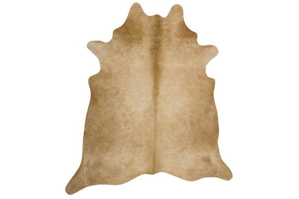 Exquisite Natural Cow Hide Beige 170x180cm