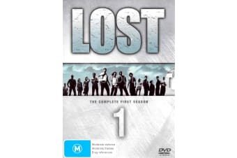 Lost The Complete First Season - Series Rare- Aus Stock DVD PREOWNED: DISC LIKE NEW