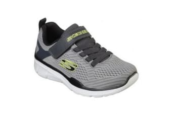 Skechers Boys Equalizer 3.0 Final Match Trainer (Grey/Black) (13.5 Child UK)