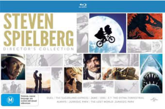 Steven Spielberg Directors Collection Blu-ray Region B