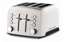 Russell Hobbs Heritage Vogue 4 Slice Toaster - White (RHT54WHI)