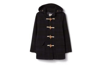 FatFace Womens/Ladies Wool Duffle Coat (Navy)