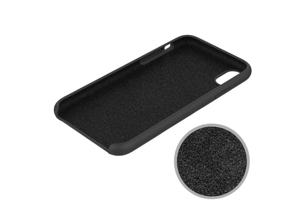 iPhone XR Silicone Case - Black