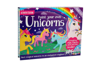 Paint Your Own Unicorns Activity Station