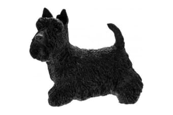 Scottish Terrier Dog Figurine (Black)