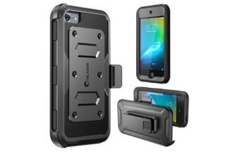 i-Blason iPod Touch 6 Gen Armorbox Dual Layer Full Body Protective Case -Black