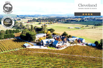 MACEDON RANGES: 2 Nights at Cleveland Winery Resort, Lancefield for Two