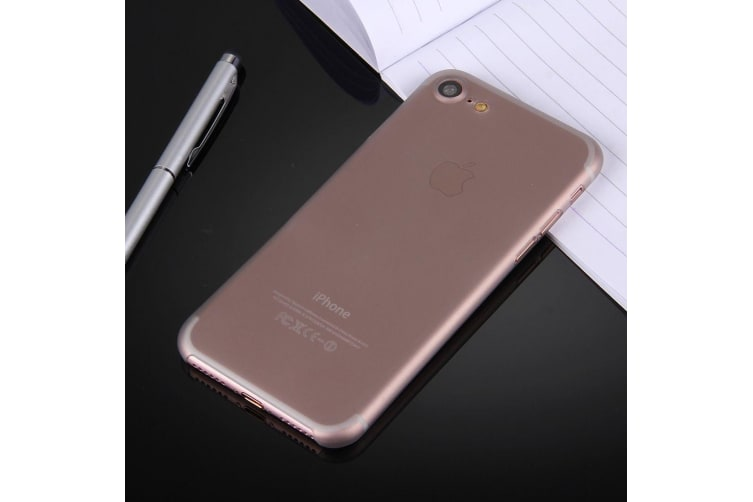 For iPhone 8 7 Case Stylish Ultra-thin Translucent Protective Cover Grey
