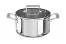 KitchenAid Tri-Ply 5.7L  Stainless Steel Low Casserole (KC2T60LCST)