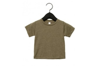 Canvas Childrens Unisex Tri-Blend T-Shirt (Olive Triblend)