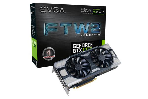 EVGA FTW2 GeForce GTX1070 iCX Gaming graphics Card