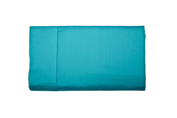 Jane Barrington 260TC Flat Sheet (King Single, Emerald)